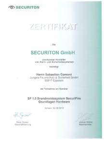 Securiton Brandmeldeanlagen
